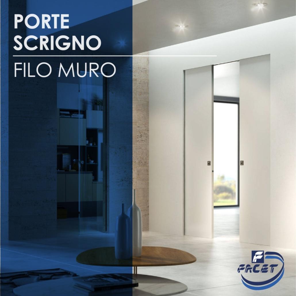PORTE FILO MURO BY SCRIGNO. MASSIMA LIBERTA\' DI ARREDO, PROGETTO E ...